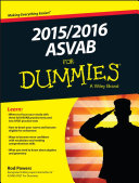2015   2016 ASVAB For Dummies