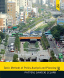 Basic Methods of Policy Analysis and Planning -- Pearson eText Pdf/ePub eBook
