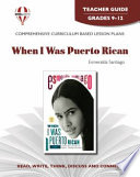 When I Was Puerto Rican Teacher Guide