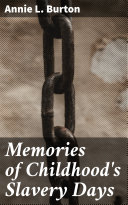 Pdf Memories of Childhood's Slavery Days