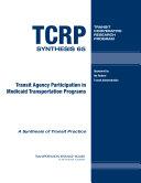 Transit Agency Participation in Medicaid Transportation Programs