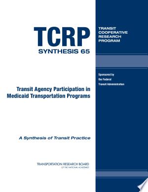 Transit+Agency+Participation+in+Medicaid+Transportation+Programs