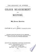 Colour Measurement And Mixture Book PDF