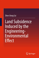 Land Subsidence Induced by the Engineering Environmental Effect