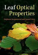 Leaf optical properties