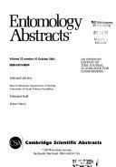 Entomology Abstracts Book PDF