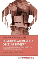 Communication Skills Osces in Surgery