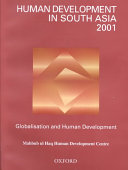 Human Development in South Asia 2001
