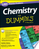 Chemistry 1 001 Practice Problems For Dummies Free Online Practice  Book