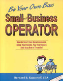 Small Business Operator Book