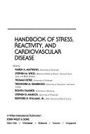 Handbook of Stress, Reactivity, and Cardiovascular Disease