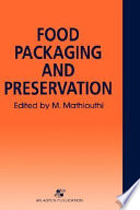 Food Packaging And Preservation Book PDF