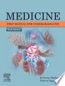 Medicine  Prep Manual for Undergraduates E book