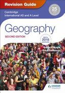 Books - Cam Int Al/As Geog Rev Guide 2 Ed | ISBN 9781510418387