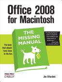 Office 2008 for Macintosh