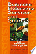 Business Reference Services And Sources