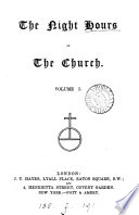 The night hours of the Church Book PDF