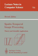 Spatio Temporal Image Processing