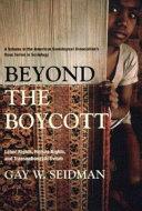 Beyond the Boycott