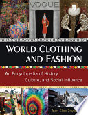 World Clothing and Fashion Book