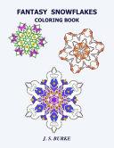 Fantasy Snowflakes Coloring Book