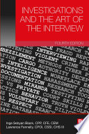 Investigations and the Art of the Interview Book