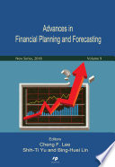 Advances In Financial Planning And Forecasting New Series Vol 9
