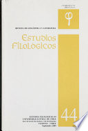 Estudios filológicos