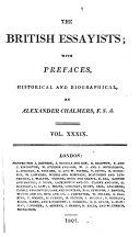 The British Essayists;: Observer