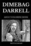 Dimebag Darrell Adult Coloring Book PDF