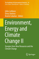 Environment  Energy and Climate Change II