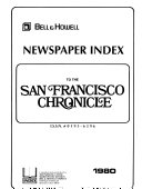 Bell   Howell Newspaper Index to the San Francisco Chronicle
