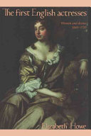 The First English Actresses
