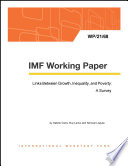 Links Between Growth, Inequality, and Poverty: A Survey