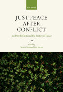 Pdf Just Peace After Conflict