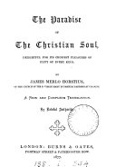 Pdf The paradise of the Christian soul. New transl