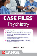 Case Files Psychiatry  Sixth Edition