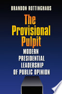 The Provisional Pulpit Book