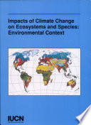 The Impact Of Climate Change On Ecosystems And Species Book PDF