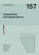 Inequalities and Applications