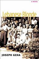 Lebanese Blonde