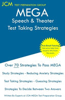 MEGA Speech   Theater   Test Taking Strategies