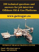 200 technical questions and answers for job interview Offshore Oil & Gas Platforms Pdf/ePub eBook