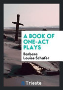 A Book of One-Act Plays ebook