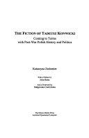 The Fiction of Tadeusz Konwicki