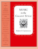 Pdf Music in the Galant Style