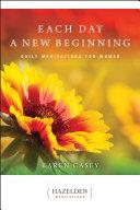 Each Day a New Beginning Pdf/ePub eBook