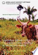 Gains from Keeping Cattle on Fallow-Based Smallholdings in the Eastern Amazon