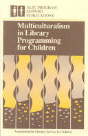 Multiculturalism In Library Programming For Children
