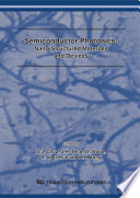 Semiconductor Photonics  Nano Structured Materials and Devices